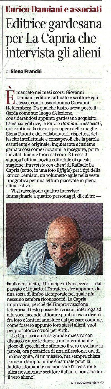 La-Capria-Intervista Luglio