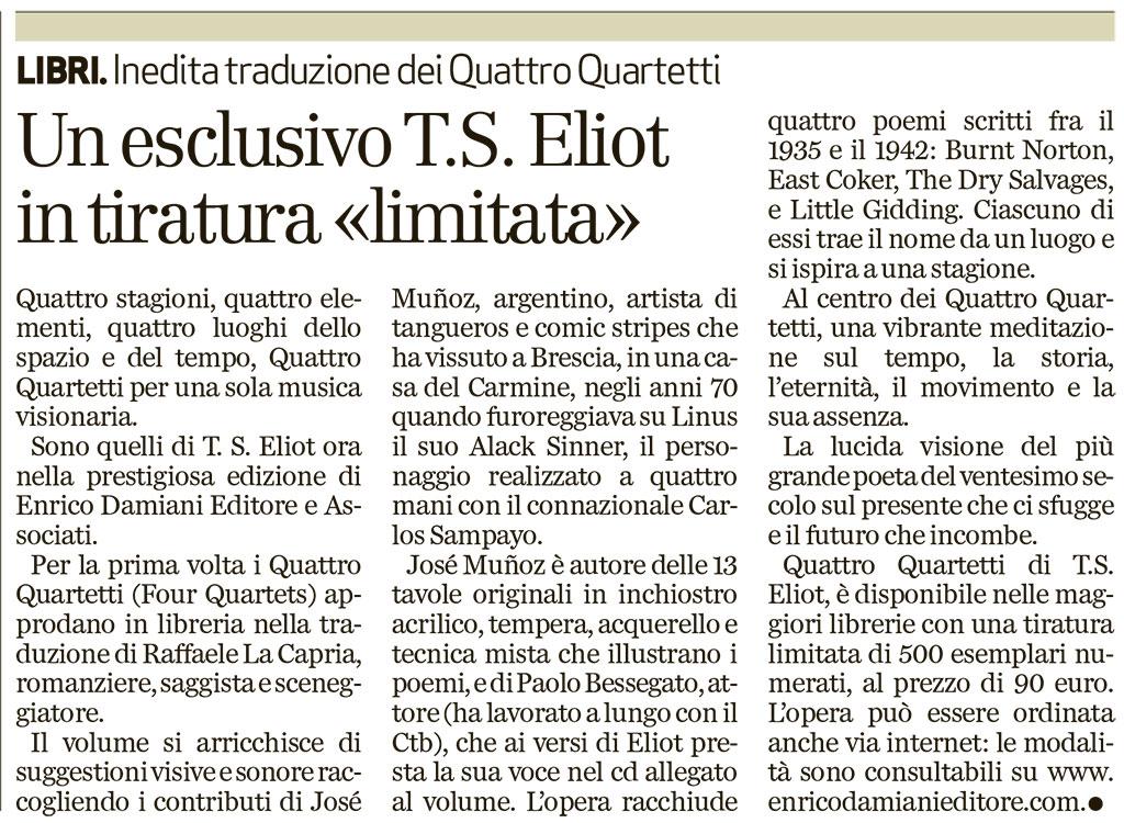 Quattro Quartetti_Il Giornale_280314